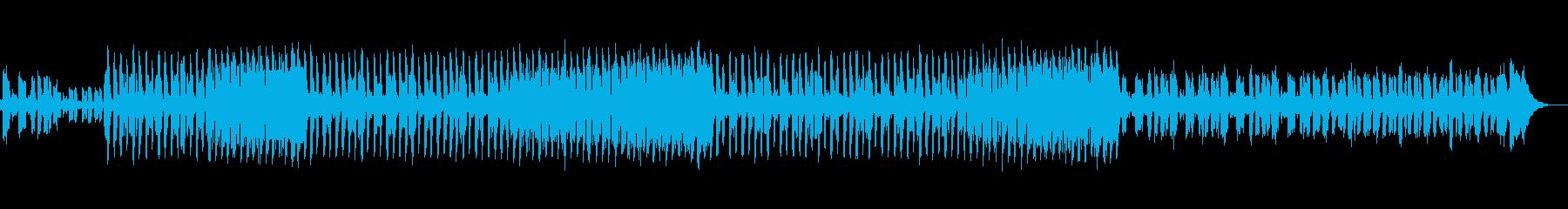 明るいトランス/ハウス音楽。さまざ...の再生済みの波形