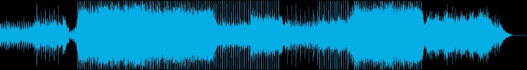 ポップ テクノ R&B アクティブ...の再生済みの波形