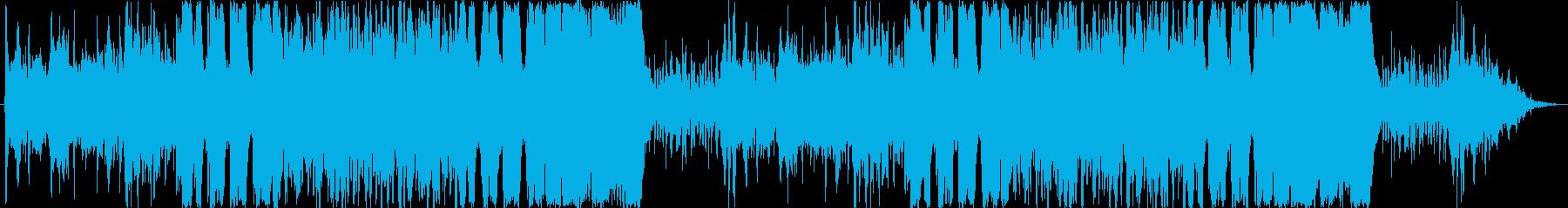 勇敢/トランペット/オーケストラの再生済みの波形