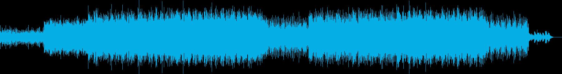 ニュース映像ナレーションバック向け-03の再生済みの波形