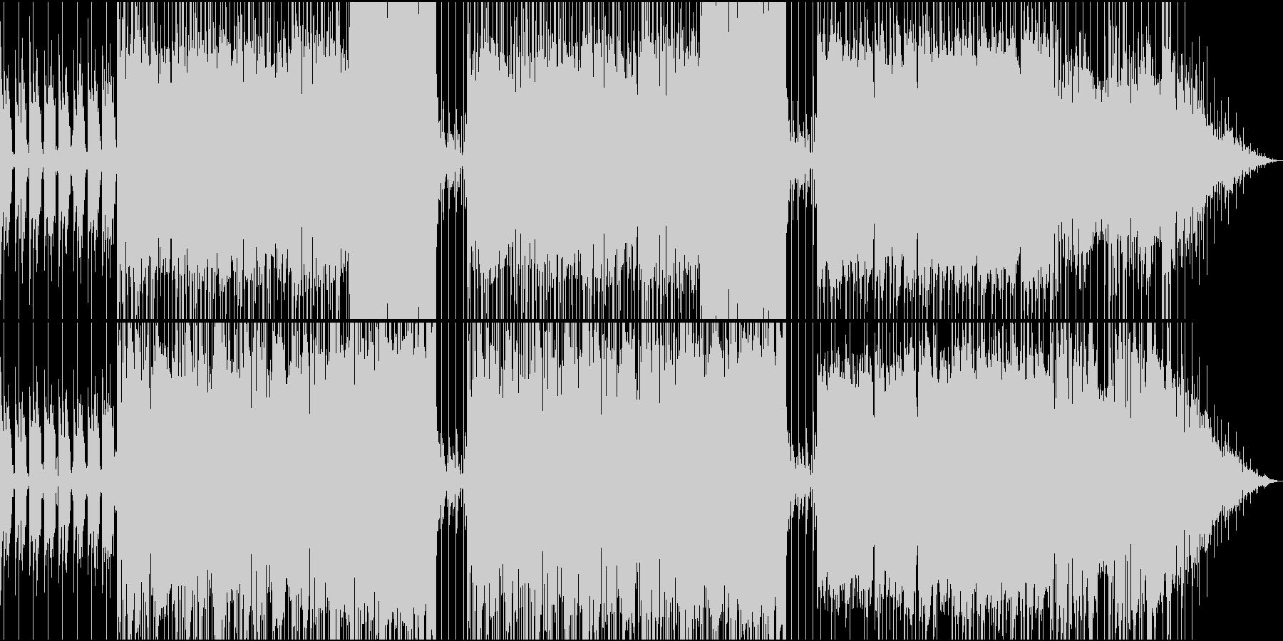 おしゃれなメロディーのギターバラードの未再生の波形