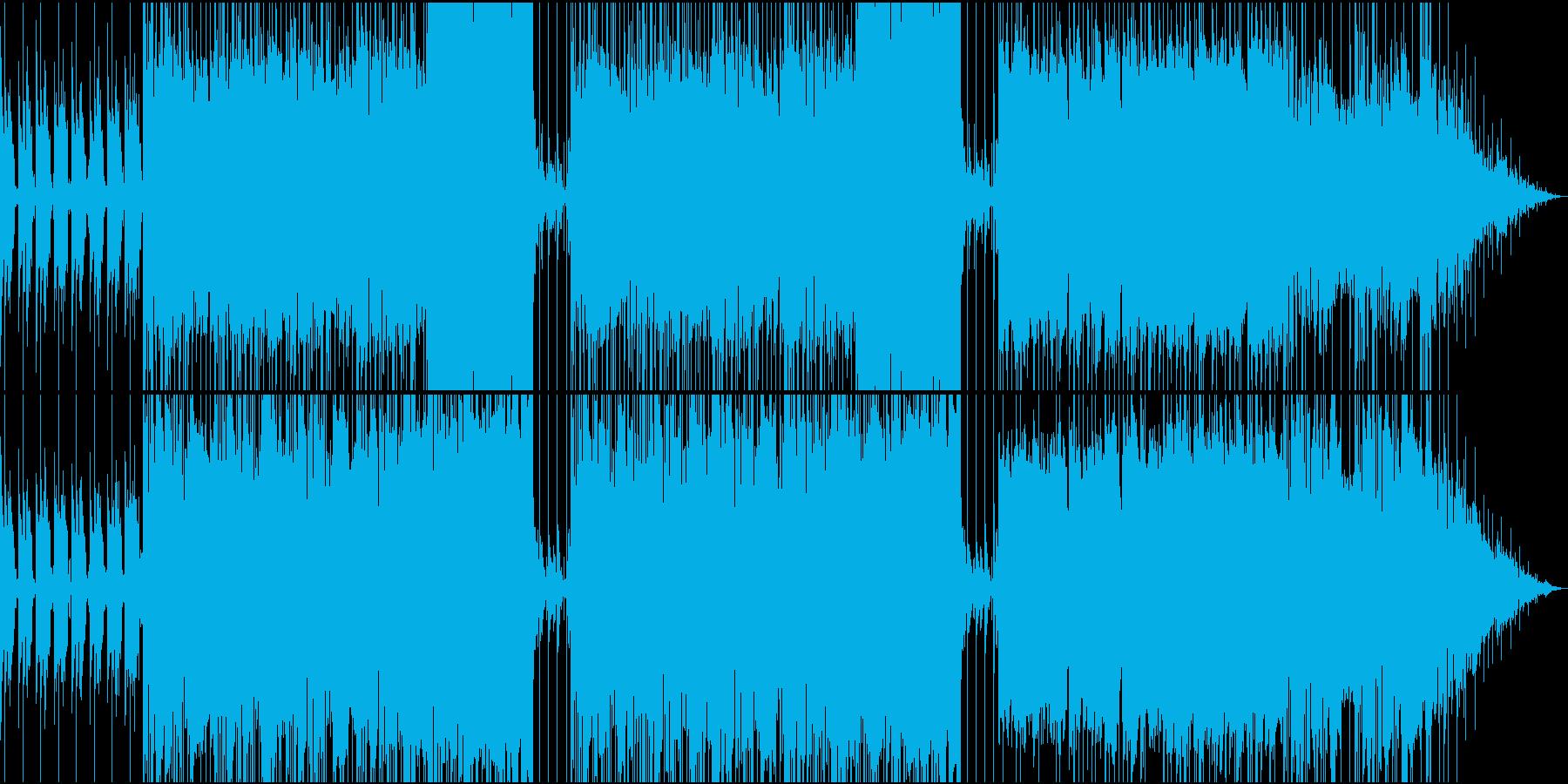 おしゃれなメロディーのギターバラードの再生済みの波形