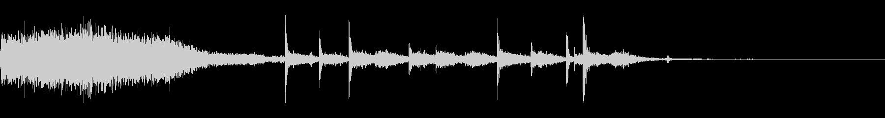 カーディーゼルオフ2xの未再生の波形