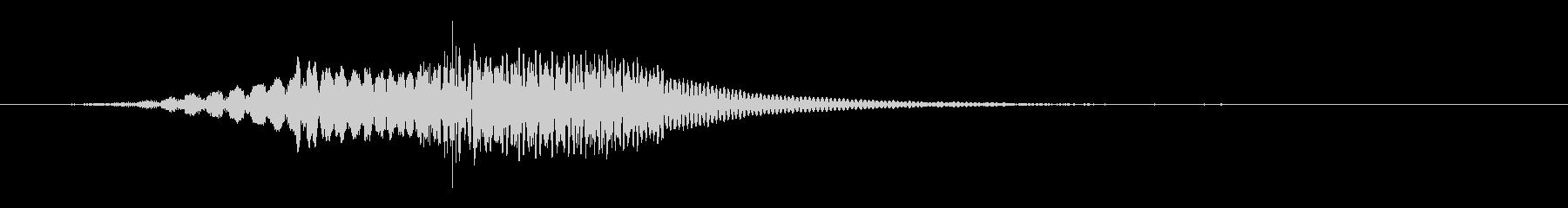 魔法のザップの未再生の波形