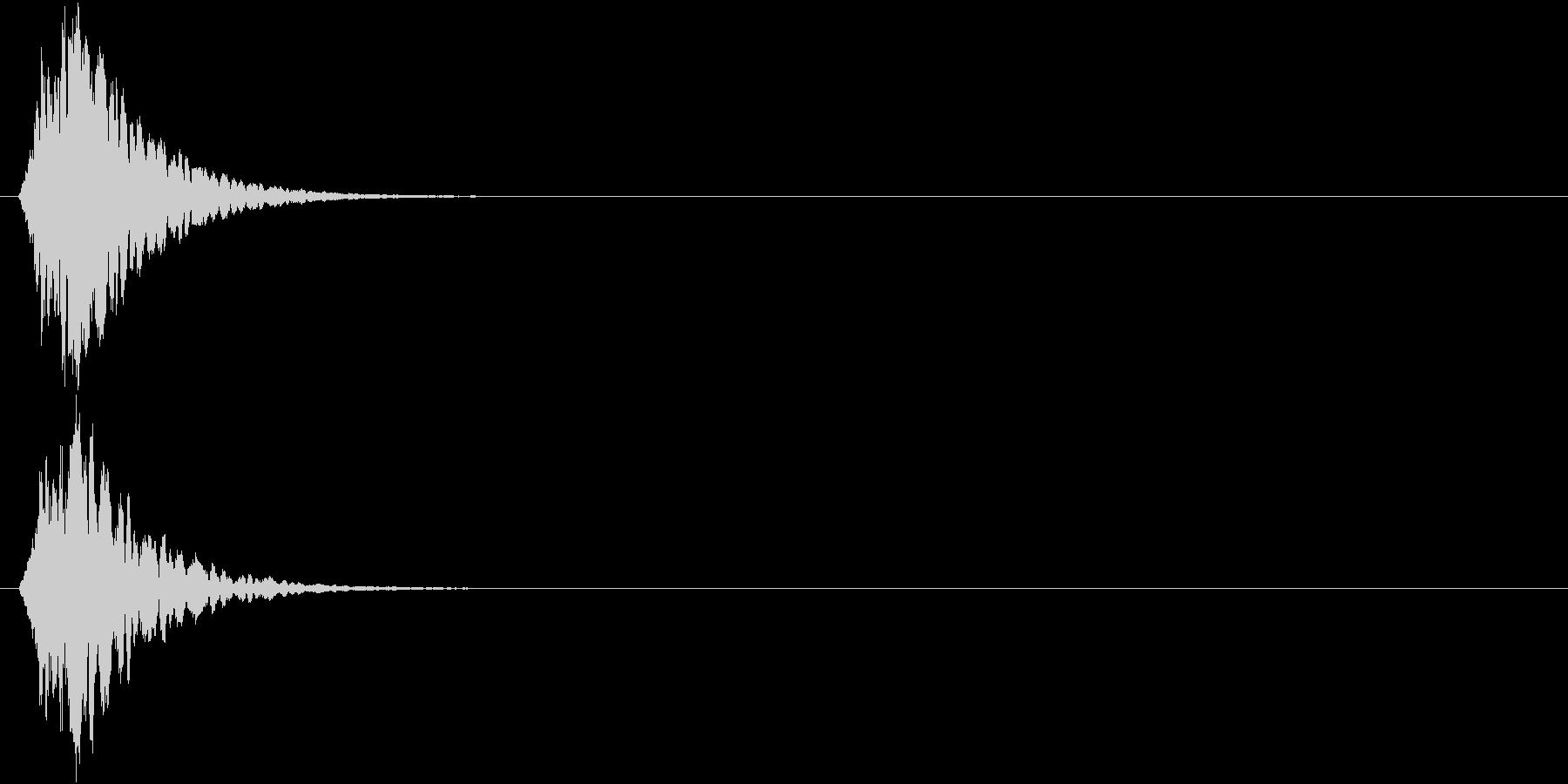 キュピーン(短め) 光 魔法効果  の未再生の波形