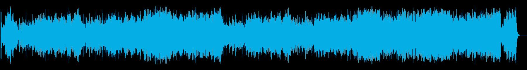 大航海時代のクラシック風オーケストラの再生済みの波形