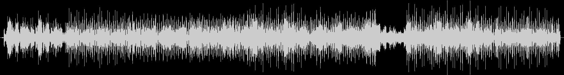 CoolなDiscoFunkの未再生の波形