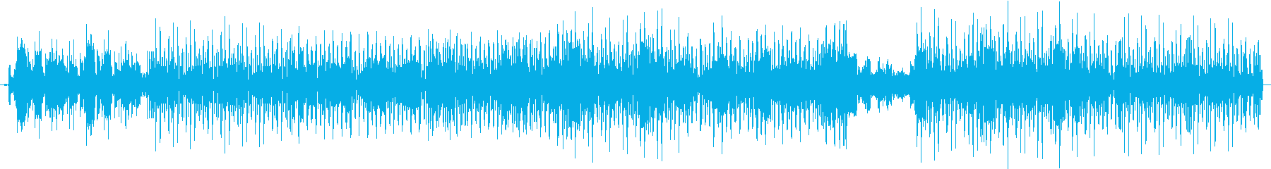 CoolなDiscoFunkの再生済みの波形