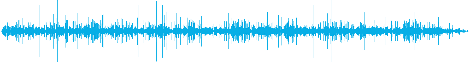 ターンテーブルステレオ:ビニールア...の再生済みの波形