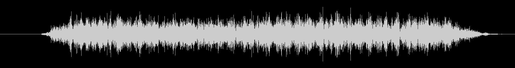 大きなクリーチャー:低音のうなり声の未再生の波形