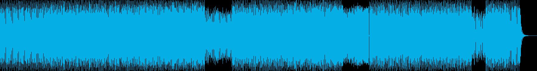 UPリフティングトランスの再生済みの波形