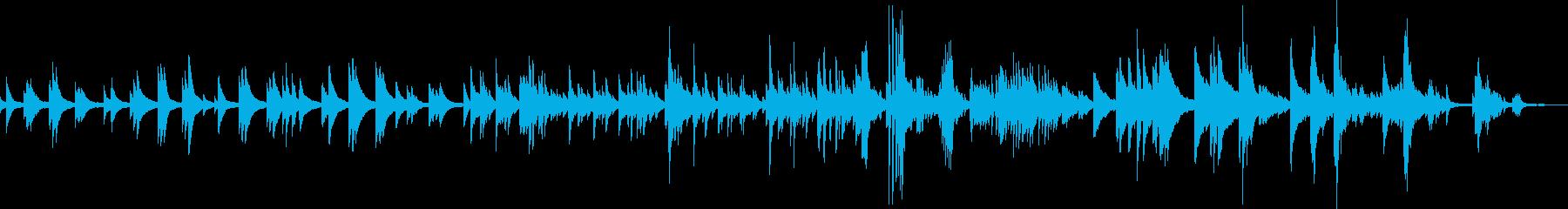 大切な人の死(ピアノ・悲しい・感動)の再生済みの波形