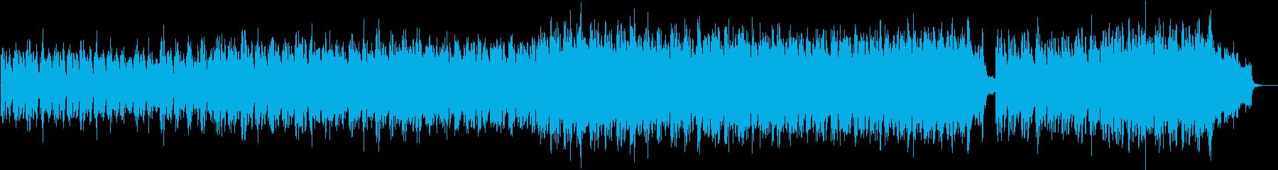 失いかけた大切なピアノメロディーの再生済みの波形