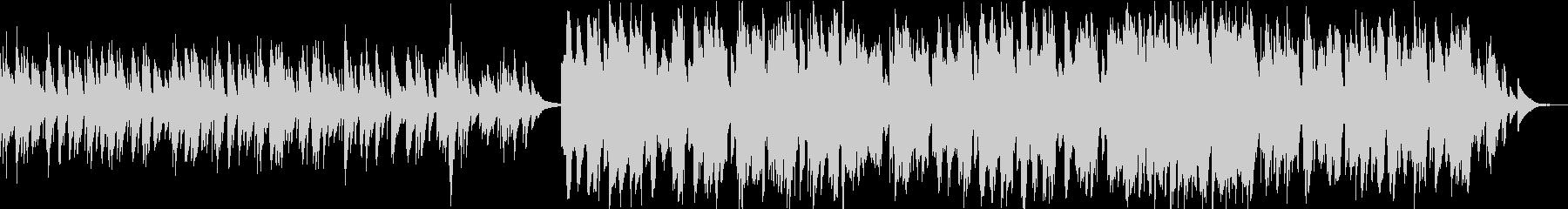 ケルトのホイッスルとハープの柔らかな曲7の未再生の波形