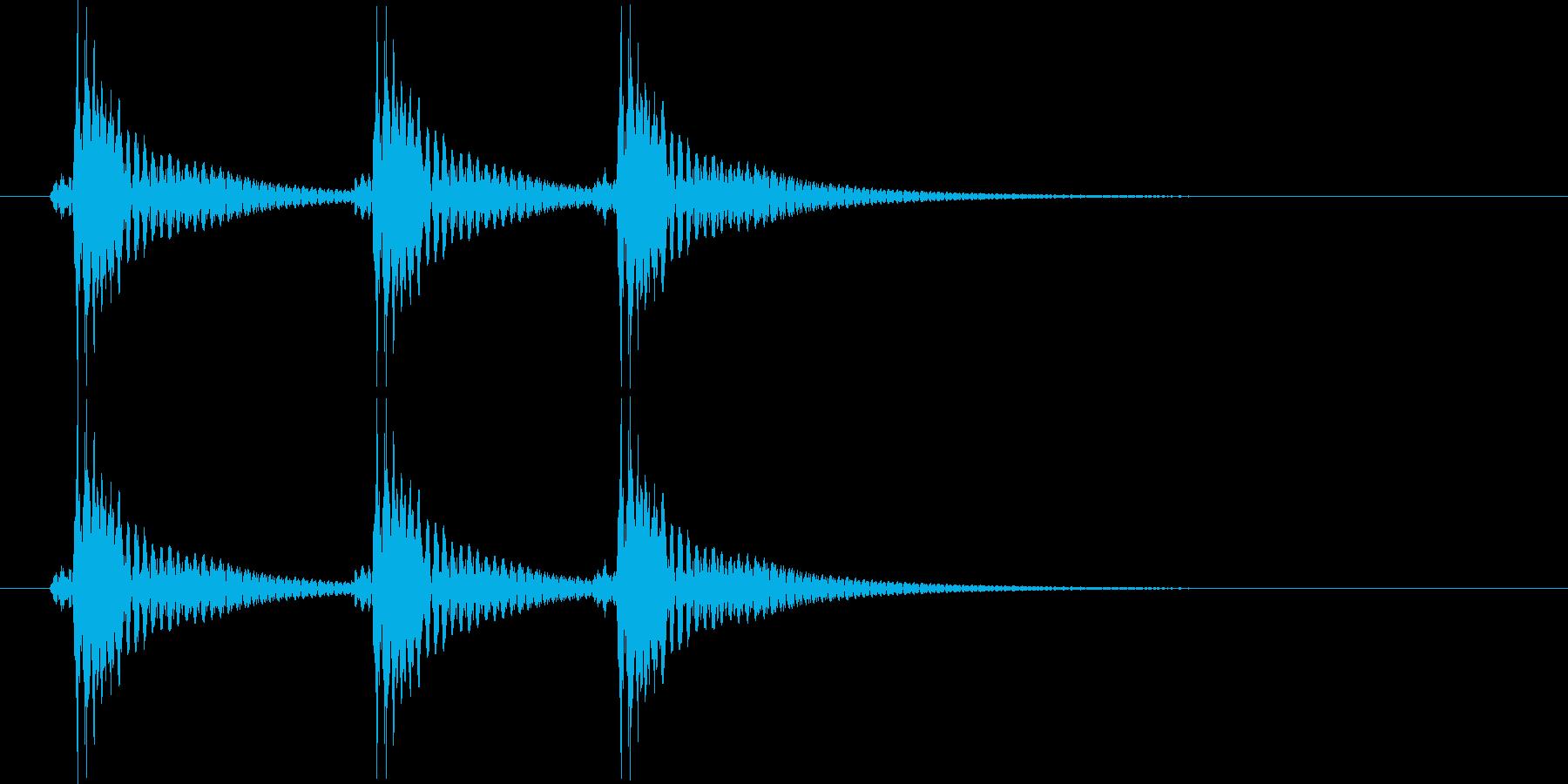 べべべん(三味線)の再生済みの波形