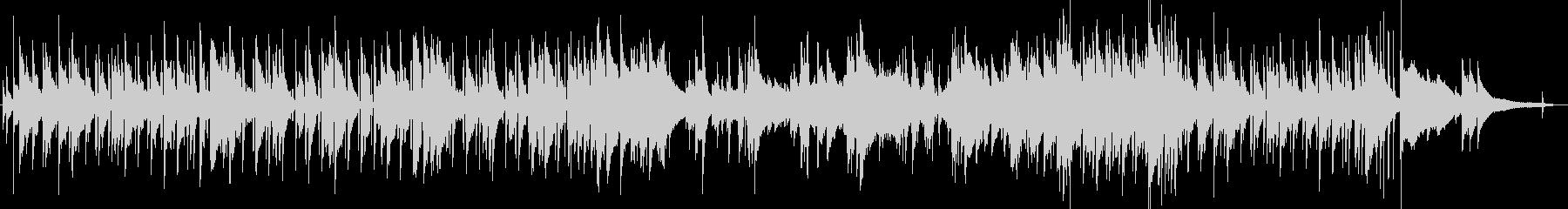 カフェ ボサノバ ピアノ おしゃれの未再生の波形