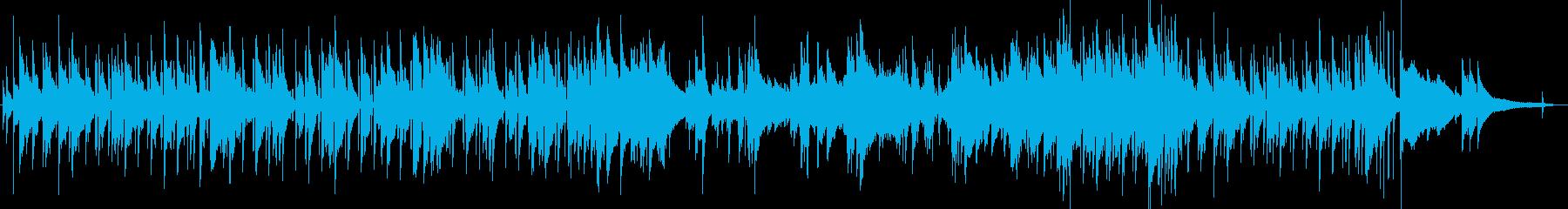 カフェ ボサノバ ピアノ おしゃれの再生済みの波形