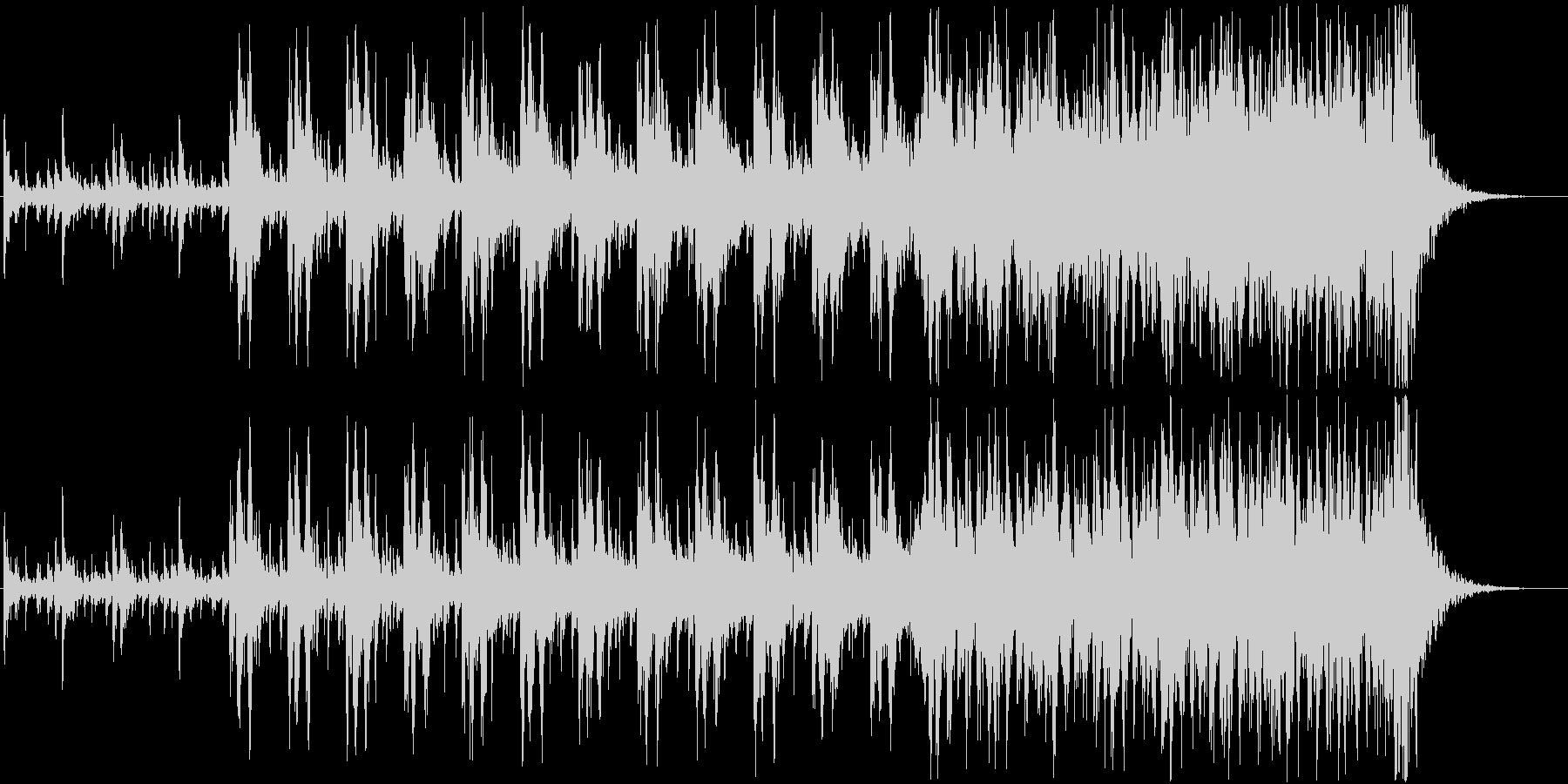 迫力あるシネマチックパーカッション03の未再生の波形