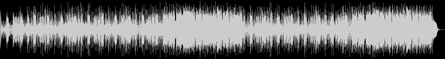ミドルテンポのハードロックの未再生の波形