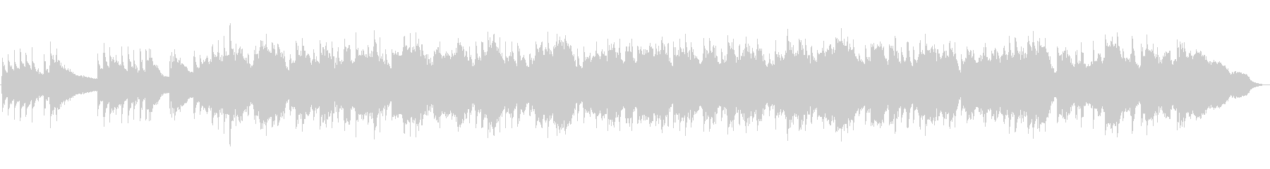 悲しくて絶望的なチェロ曲の未再生の波形