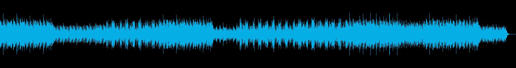 【メロ・サビリフ無】ラテン系ダンス音楽の再生済みの波形