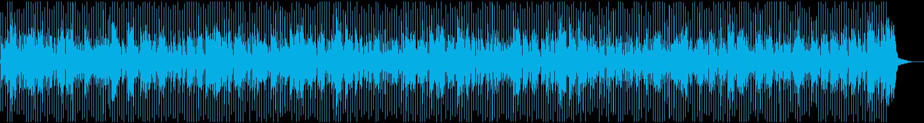 陽気でコミカルな疾走カントリーハーモニカの再生済みの波形