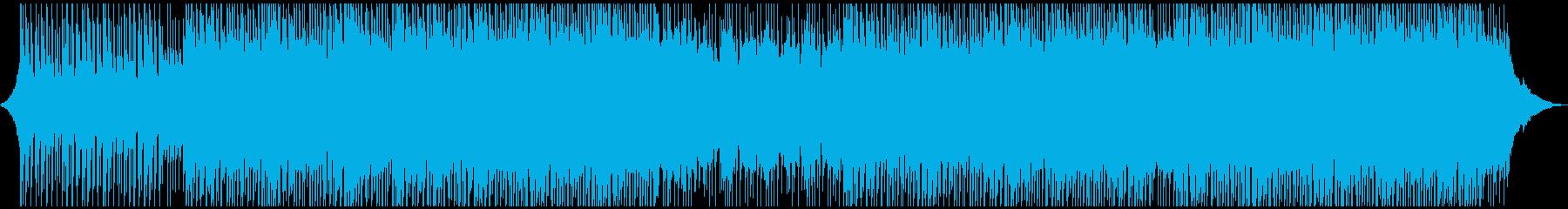 感情的でやる気のある企業音楽の再生済みの波形