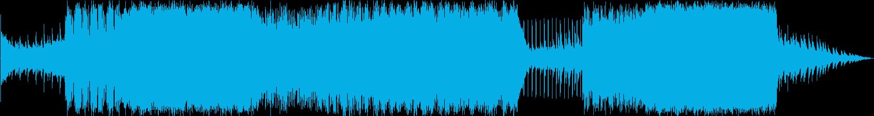 トロピカルハウスに乗せたラブソングの再生済みの波形