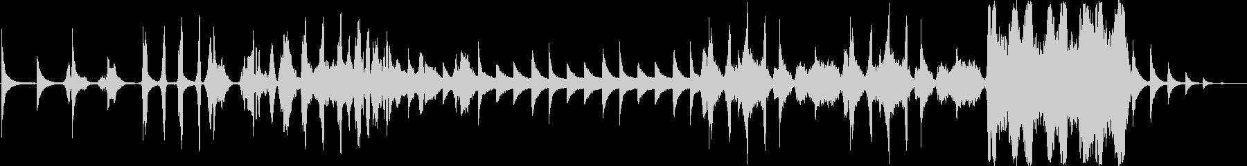 平日のアンブレラの未再生の波形