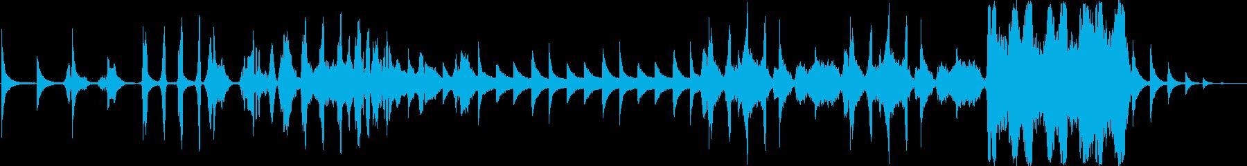平日のアンブレラの再生済みの波形
