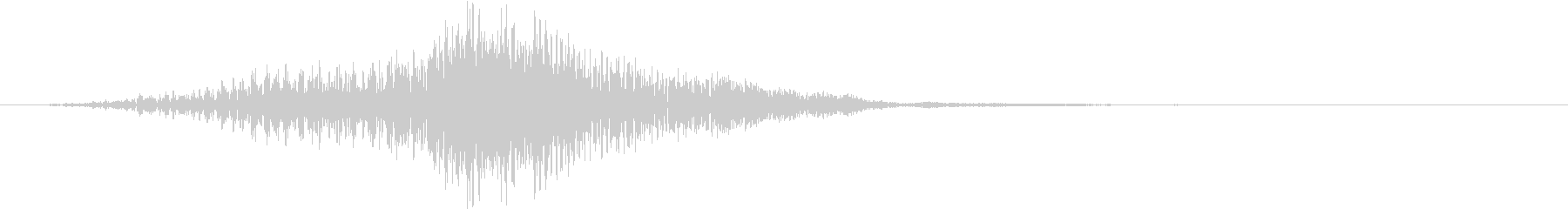 ホワン(SF ワープ音 起動音)の未再生の波形