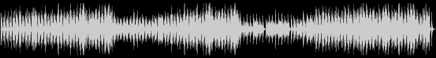 篠笛とオーケストラの幻想的なBGMの未再生の波形