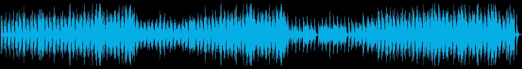 篠笛とオーケストラの幻想的なBGMの再生済みの波形