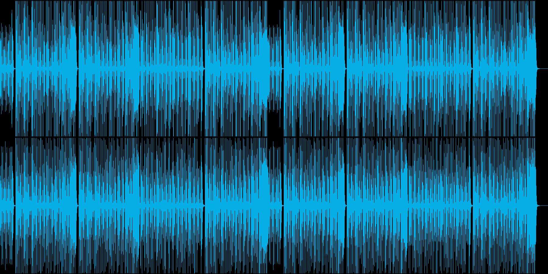 無邪気さ溢れる木琴の曲の再生済みの波形