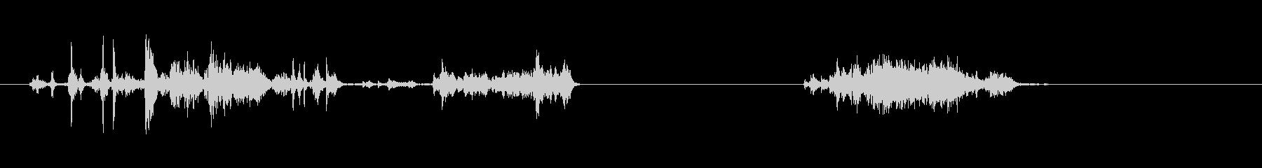 スクレープ、ストーンスライドヘビー...の未再生の波形