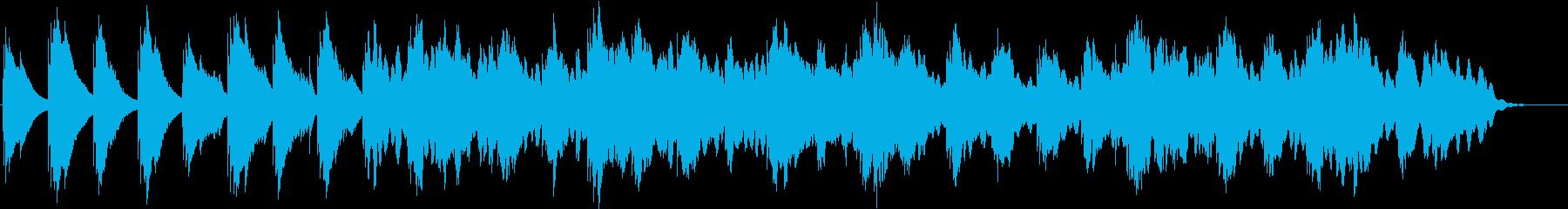 オルゴールのバラード、リラックス、ピアノの再生済みの波形