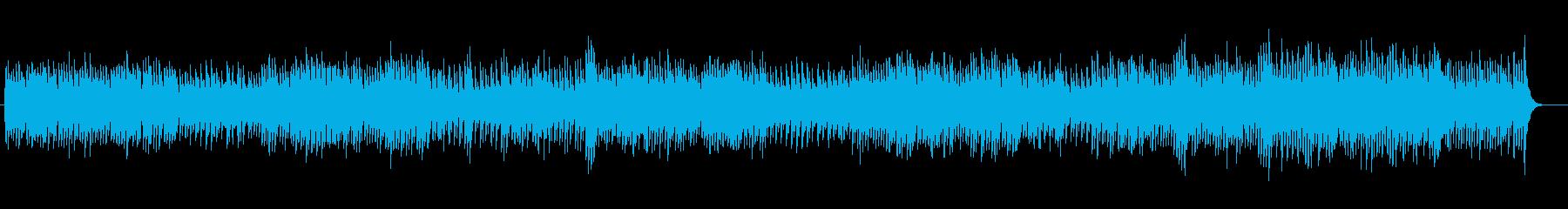スローテンポのストリングスポップスの再生済みの波形