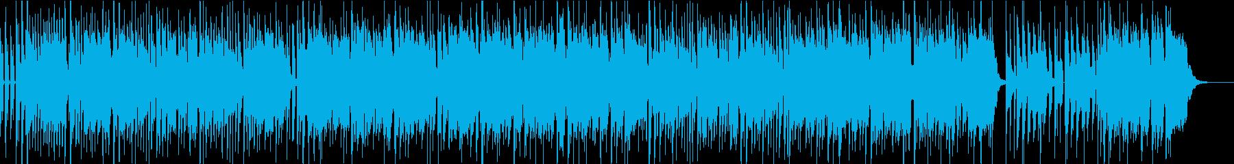 エアー感に満ちた歌のダンサブルポップスの再生済みの波形