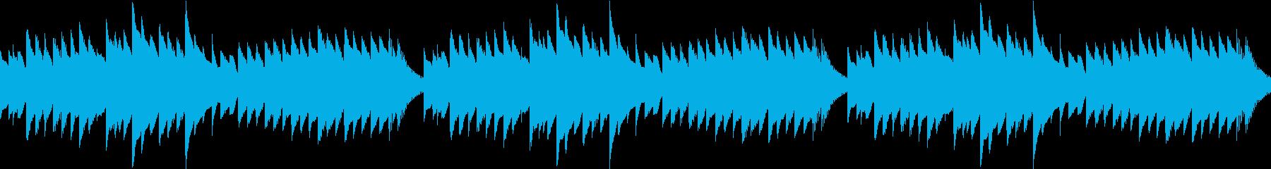 春を連想させるほのぼのワルツ(ループ可)の再生済みの波形