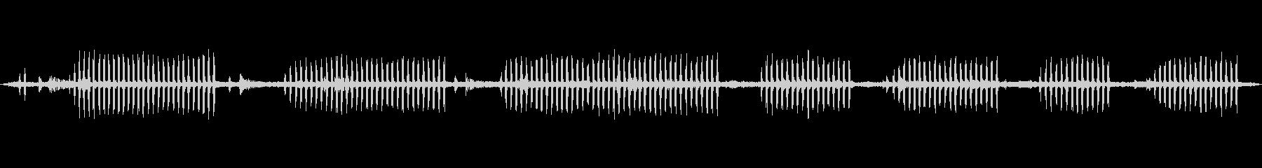 環境音 リバーデイバードコール01の未再生の波形