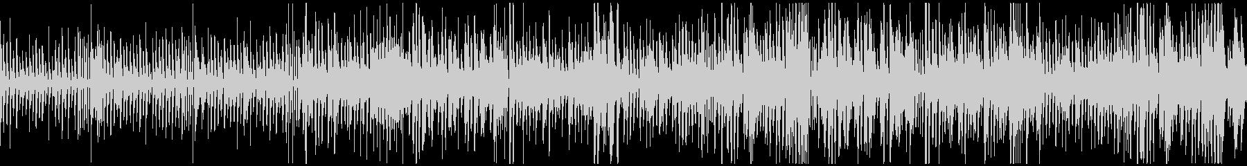 ピアノとベースジャズ系ハロウィン/ループの未再生の波形