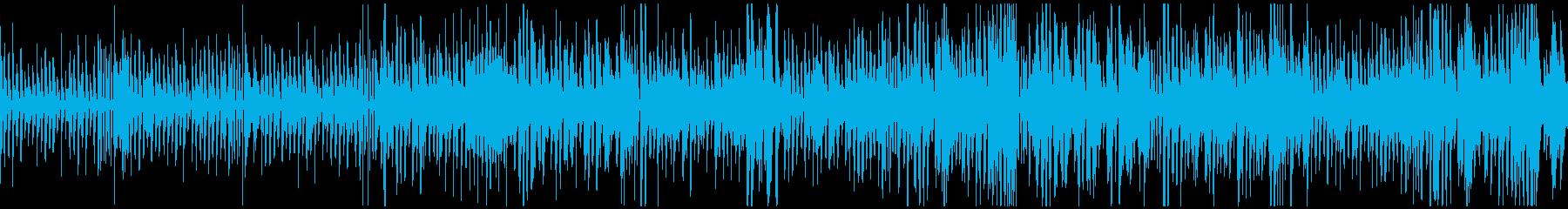 ピアノとベースジャズ系ハロウィン/ループの再生済みの波形