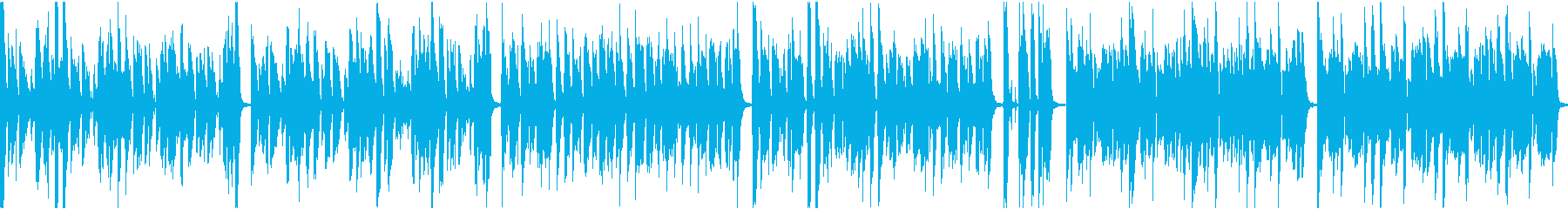 Fashionable ikeike / quiet karaoke / loop's reproduced waveform