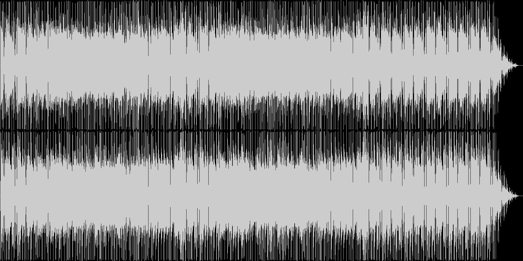 陽気なギターポップスの未再生の波形