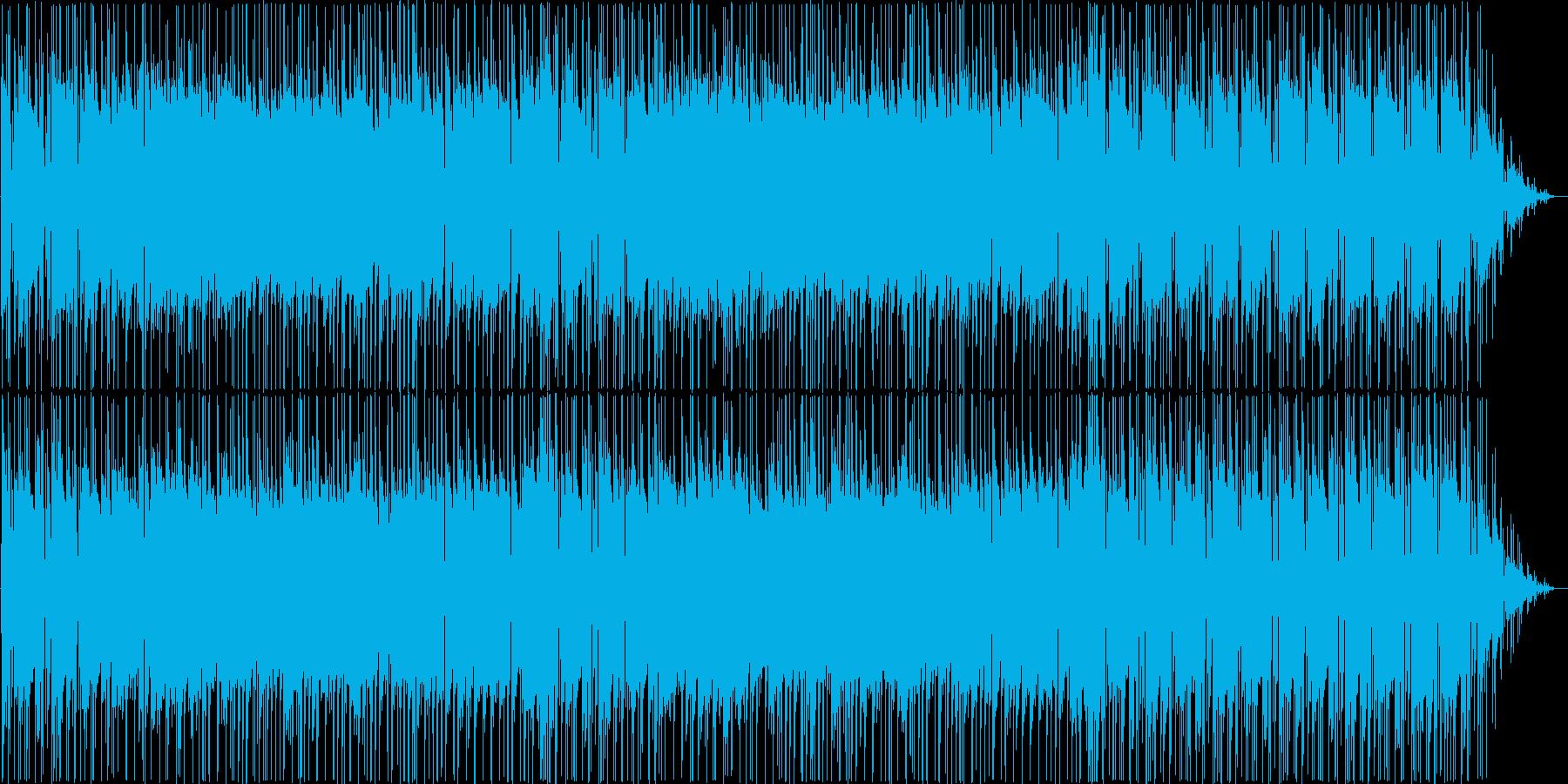 陽気なギターポップスの再生済みの波形