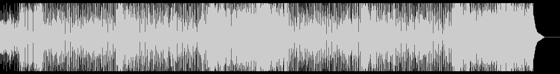 陽気なピアノポップの未再生の波形