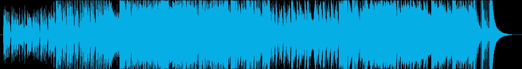可愛くコミカル&勇壮なBGMの再生済みの波形