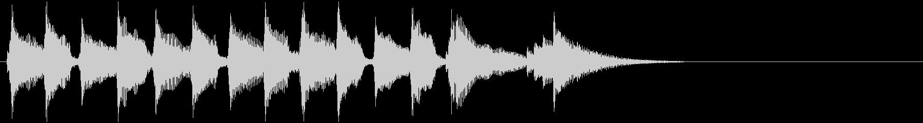 CMあけで流れそうなウクレレ3の未再生の波形