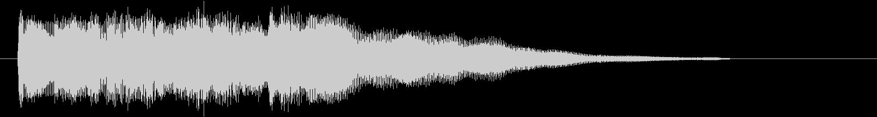 ベルのみのアイキャッチの未再生の波形