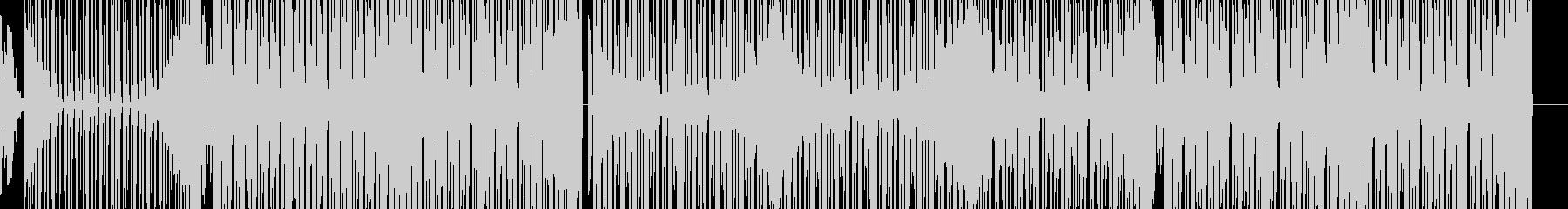森イメージのダンス系EDMの未再生の波形